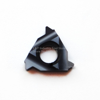 New Original Vargus Vardex 2IR 19BSPT VTX Thread Carbide Inserts 2IR 19 BSPT VTX Cutting Blade Tool Black image