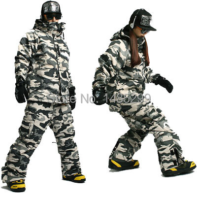 New Premium ''Southplay'' Winter Waterproof 10,000mm (Jacket + Pants) Sets - White Military