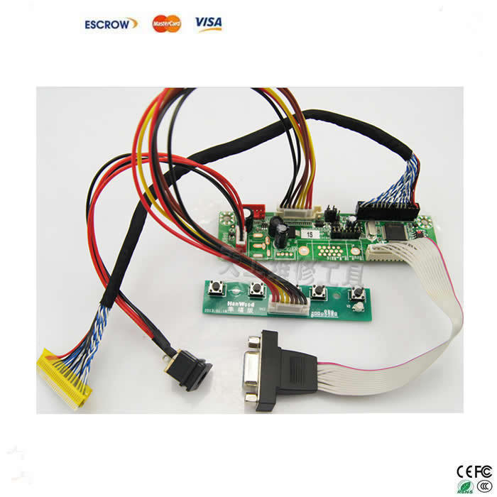 все цены на  6 pcs set Free Programming universal driver board general kit for 12-42'' LCD TV and Laptop screen  онлайн