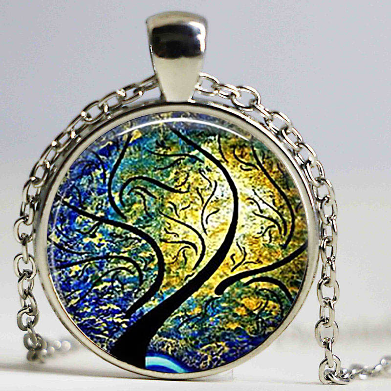 Wind And Sun Pendant Willow Tree Jewelry Willow Pendant