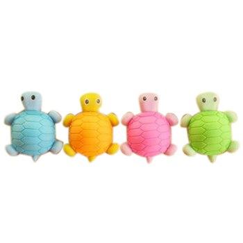 8 piezas regalo tortuga borradores para niños estudiantes premios ...