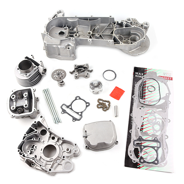 gy6 125cc 150cc upgrade to gy6 180cc 61mm big bore engine kit for rh aliexpress com GY6 Engine Parts GY6 150Cc Engine Parts