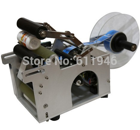 цена на MT-50 Semi-automatic Round Bottle Labeling Machine PET Plastic Bottle Label Machine
