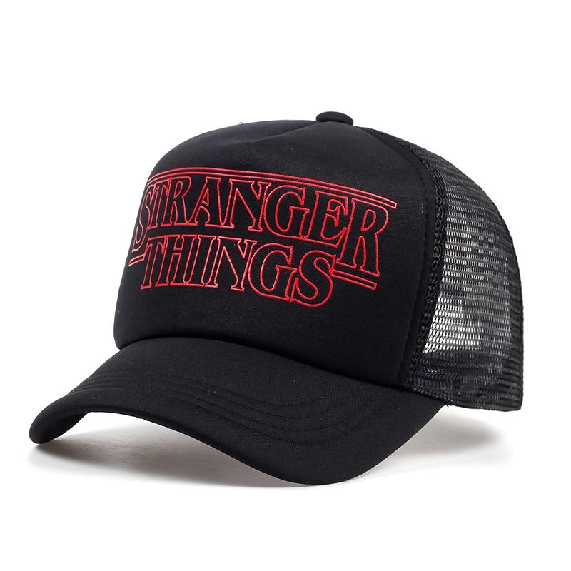 black trucker hat 2