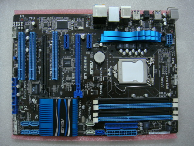 Utilisé, Asus P8P67 LE Carte Mère P67 Socket LGA 1155 i3 i5 i7 DDR3 32G SATA3 USB3.0