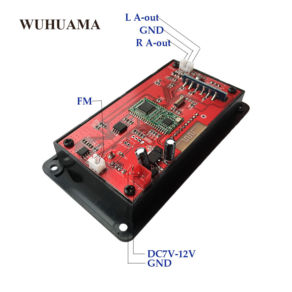 Diy Fm Transmitter For Car Do It Your Self Ba1404 Hi Fi Stereo Bluetooth 4 0 Mp3 Player Module Dae Aux Record Ape Flac