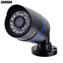 Gadinan 1080 P 2MP (HI3516C + SC2035) H.264 ONVIF Impermeável IR Outdoor CUT Night Vision P2P IP Bala câmera Plástico ABS Full HD
