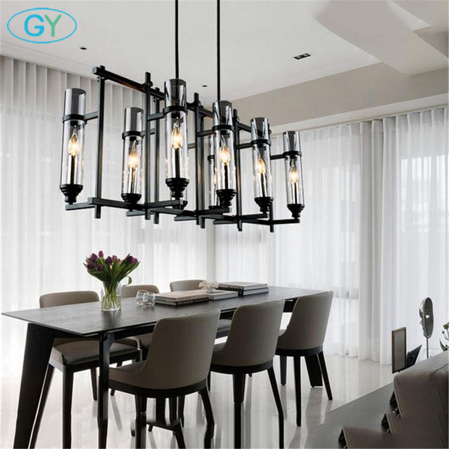 110v 220v american industrial art vintage glass candle chandelier 110v 220v american industrial art vintage glass candle chandelier lamp nordic lustre modern dining room kitchen aloadofball Choice Image