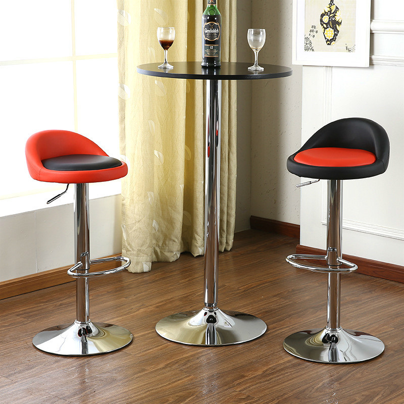 European simple fashion high quality comfortable the front desk chair lifting bar stool chair barstools free shipping in Office Chairs from Furniture