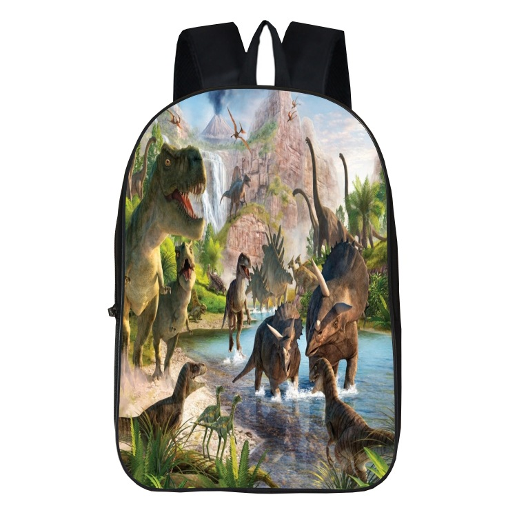 New Fashion Dinosaur Printing Cool Personality Creative Multi-function Bag Comfortable Waterproof Men and Women Backpack