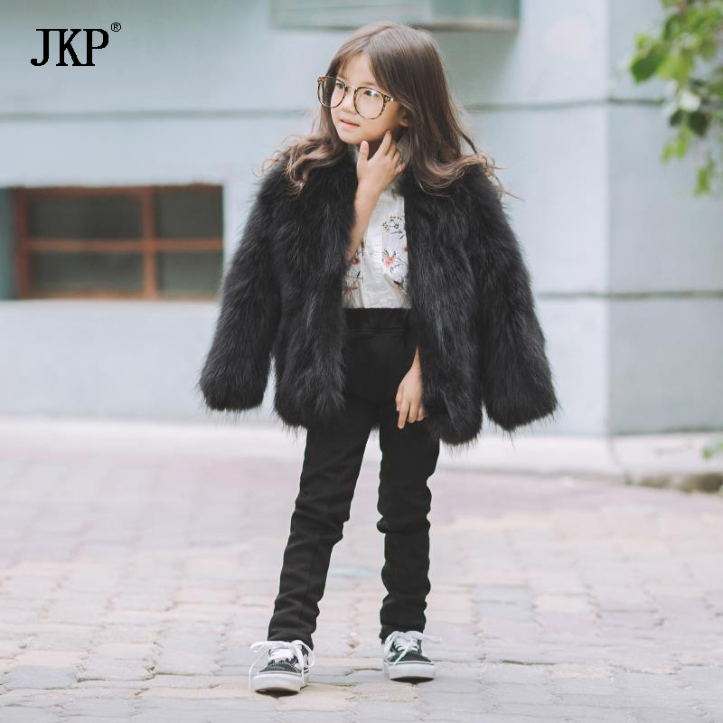 Winter Fashion Kids Girls Raccoon Fur Coat Baby Fur Coats & Jackets children For Warm Coat For Boys лопатка brabantia profile 385568