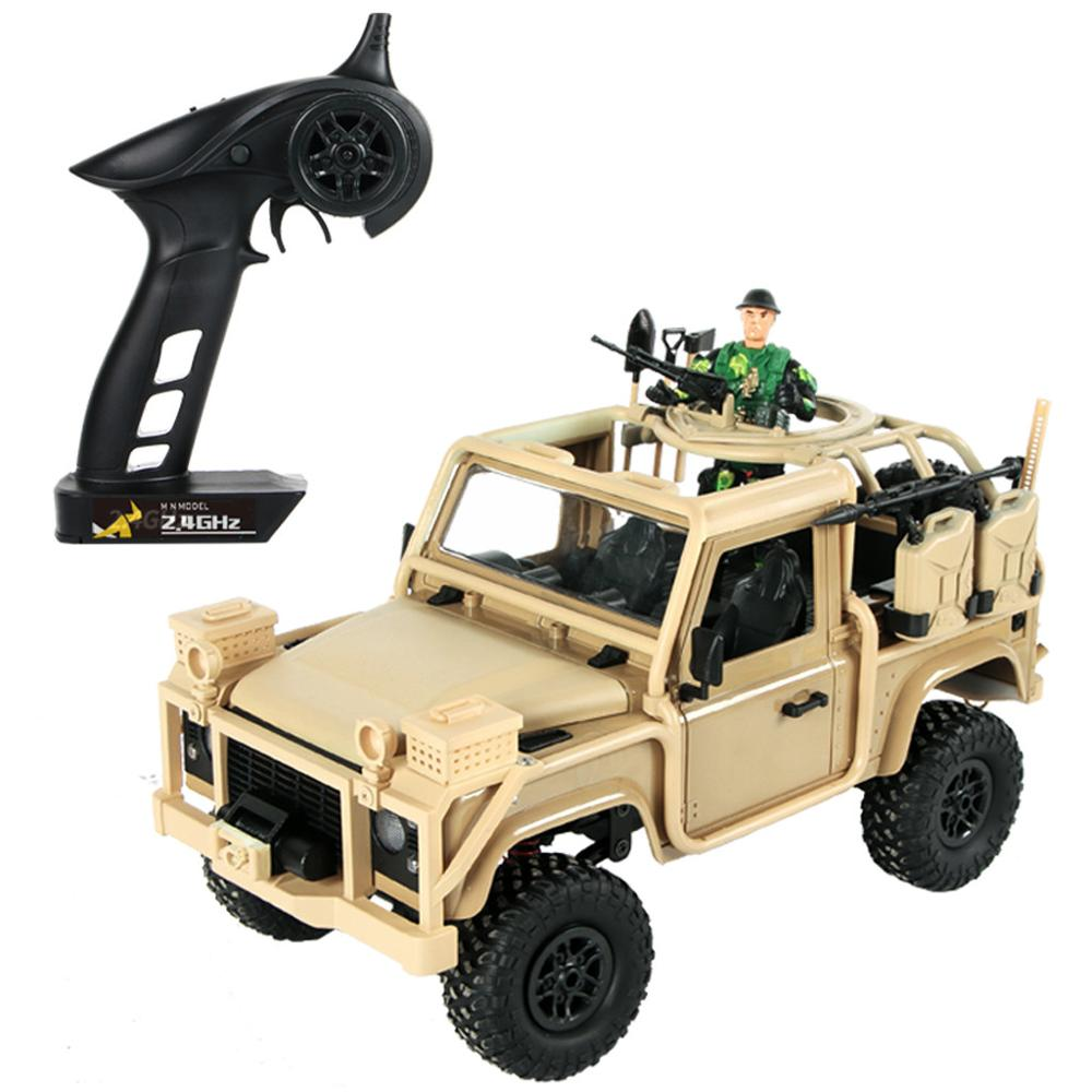 Mn 96 Rsov 1 12 2 4g 4wd Crawler Rc Car Remote Control Jeep With Led Light Rc Cars Aliexpress