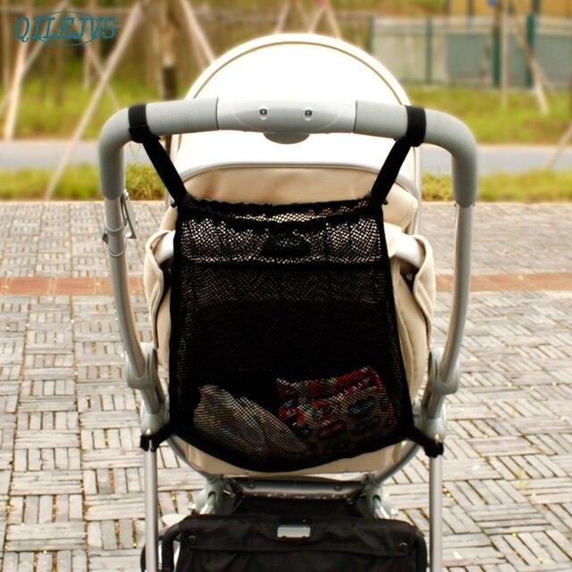 באיכות גבוהה חדש מעשי תינוק תינוקות עגלת רשת בקבוק חיתול אחסון ארגונית תיק מחזיק #330