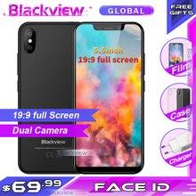 Blackview A30 Smartphone 19:9 da 5.5 pollici doppia Fotocamera 2GB di RAM 16GB di ROM MT6850A 8MP 3G del telefono Mobile