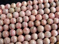 Free Shipping (55 pieces/set/37g)  natural rhodochrosite  7-7.5mm smooth round  loose beads stone wholesale