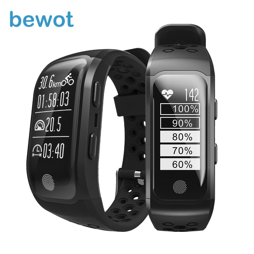 bewot GPS Smart Band Professional Waterproof Sports Band GPS Chip Multi Sports Mode Dynamic Heart Rate