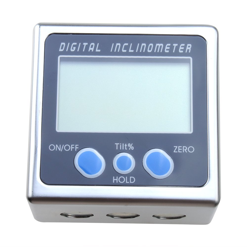 360 Degree Mini Digital Protractor Inclinometer ABS Function Angle Cube Gauge Electronic Level Box Magnetic Base Measuring Tools lixf dxl360s digital lcd protractor inclinometer single dual axis level box 0 01 degree
