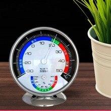 Комнатный круглый влажный гигрометр комнатный термометр Высокоточный детский комнатный домашний аптекный тестер влажности Настольный измеритель температуры