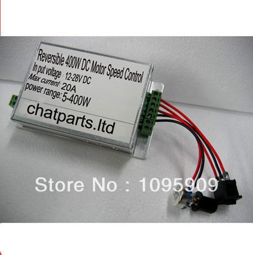 12V-28V Reversible 400W DC Motor Speed Control PWM Controller 16A