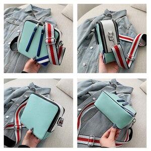 Image 5 - Sling çanta omuz askısı Kadın Küçük Çanta Bayan Yaz Kadınlar Için Şık Çanta Bayanlar El Çantaları Messenger Crossbody Yeşil