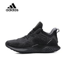 online store 93f77 e433e Original officiel Adidas alphabet au-delà de rebond chaussures de course  pour hommes Sport baskets