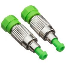 10pcs FC/APC fiber attenuator female to male plug type 1 3 5 7 10 15 20 25 30dB ftth optical attenuator цена и фото
