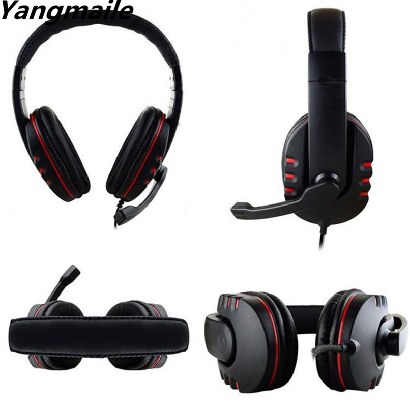 Yangmaile New Gaming Headset Voice Control Wired HI-FI Sound Quality For PS4 Black+Red H1TY0 new original authentic computer used motherboards for biostar hi fi a88s3e fm2 a88 motherboard hi fi hdmi