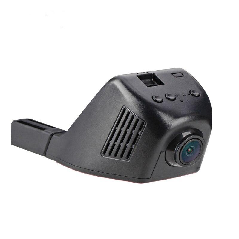 Скрытая Автомобильная камера рекордер wifi Автомобильная камера видео мини DVR двойной объектив Dash Cam в автомобиле видео ночного видения черны...