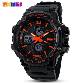Fashion SKMEI Brand Children Watches LED Digital Quartz Watch Boy Girl Student Multifunctional Waterproof Wristwatches For Kids 1
