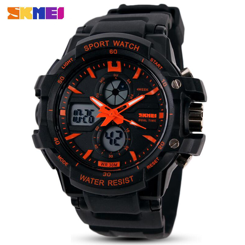 Fashion SKMEI Brand Children Watches LED Digital Quartz Watch Boy Girl Student Multifunctional Waterproof Wristwatches For Kids