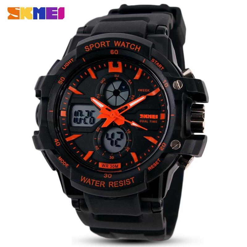 Mode SKMEI Marke Kinder Uhren LED Digital Quarz Uhr Junge Mädchen Student Multifunktionale Wasserdichte Armbanduhren Für Kinder