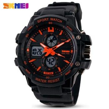 Fashion SKMEI Brand Children Watches LED Digital Quartz Watch Boy Girl Student Multifunctional Waterproof Wristwatches For Kids - discount item  30% OFF Children's Watches