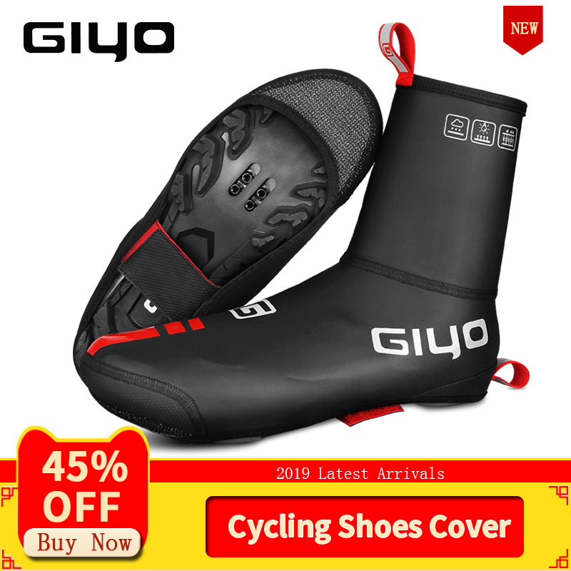 GIYO 2019 Cycling Shoes Cover Waterproof Bicycle Bike Overshoe For MTB Road Cycling Over Shoes Thermal Summer Winter Cycle Boots