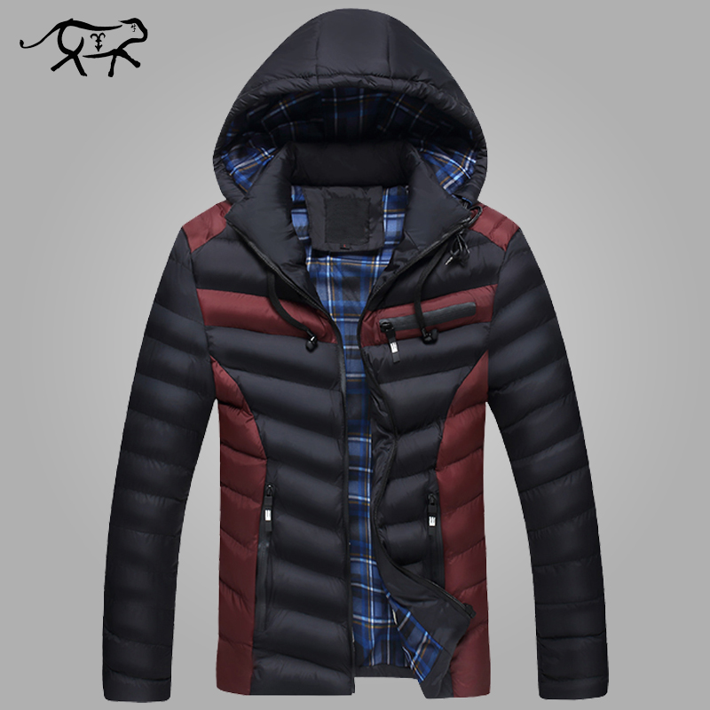 цены  New Arrival Winter Jacket Men Warm Cotton Padded Coat Mens Casual Hooded Jackets Handsome Thicking Parka Plus size Slim Coats