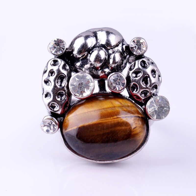 Nuevo anillo de plata Ojo de Tigre antiguo Ajuste de amatista ágata roja Gather Money Crystal Estilo Vintage hombres regalo anillos de dedo para mujeres
