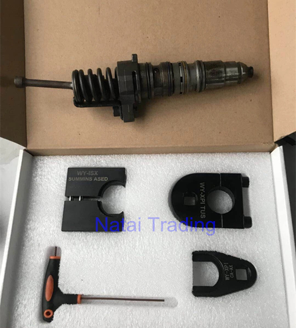 For CUMMINS ISX diesel injector disassemble tool, common rail injector nozzle EUI HEUI dismantle tool injector repair tool