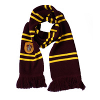 New Harri Potter Scarf Gryffindor Slytherin Hufflepuff Ravenclaw Scarf Costumes Gift Cosplay School Children College Scarf