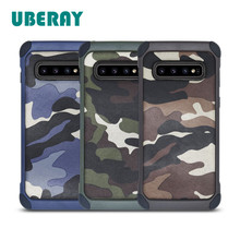 CYATO S10 Case Camouflage Cover For Samsung Plus Lite Phone Cases Luxury Cool Coque Man ins Hot Selling