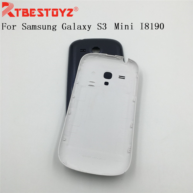 RTBESTOYZ For Samsung Galaxy S3 Mini <font><b>I8190</b></font> <font><b>Battery</b></font> <font><b>Back</b></font> Cover Rear Case For Samsung S3 Mini Door Housing image