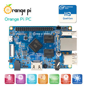 Mini PC Orange Pi 1GB-SUPPORT Android Quad-Core Linux The H3 Lubuntu Is-Available Wholesale