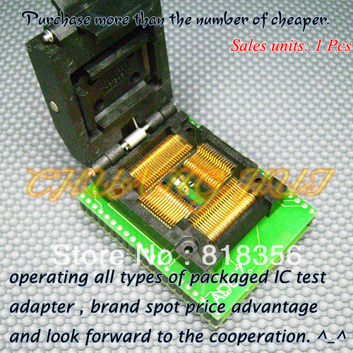 AD617 Programmer Adapter IC51-0804-819 QFP80-DIP42 Adapter/IC SOCKET/IC Test Socket цены онлайн