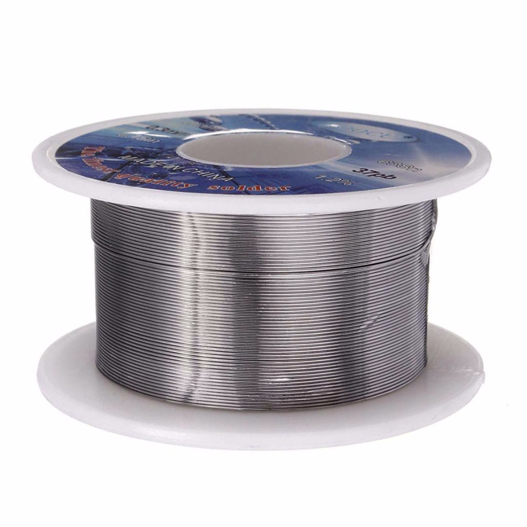 0.3mm Solder Wire 63/37 Tin/Lead Flux Welding Iron Line Reel Rosin Core Solder Wire 2.0% For Electrical And Electronics
