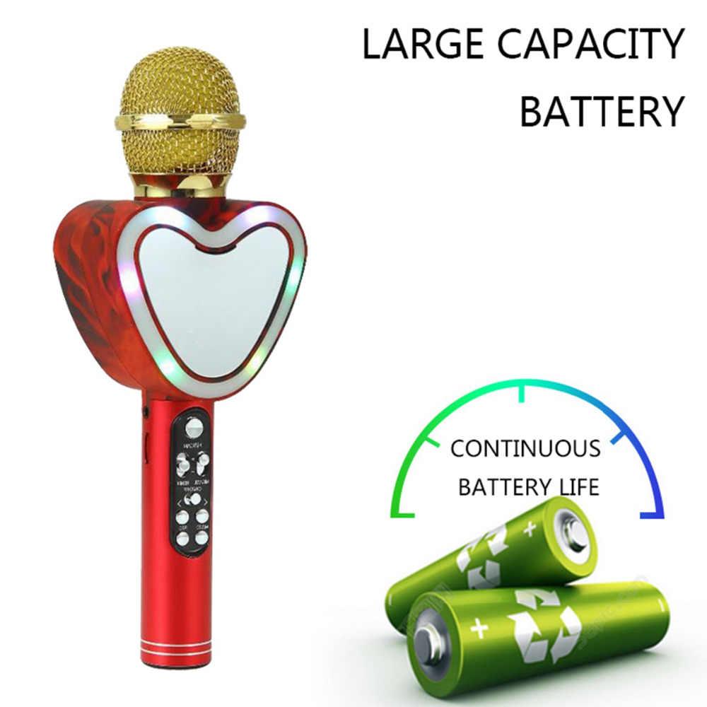 Bezprzewodowa Bluetooth Karaoke Microphone3-in-1 przenośny ręczny mikrofon karaoke strona główna urodziny głośnik maszyna dla iPhone