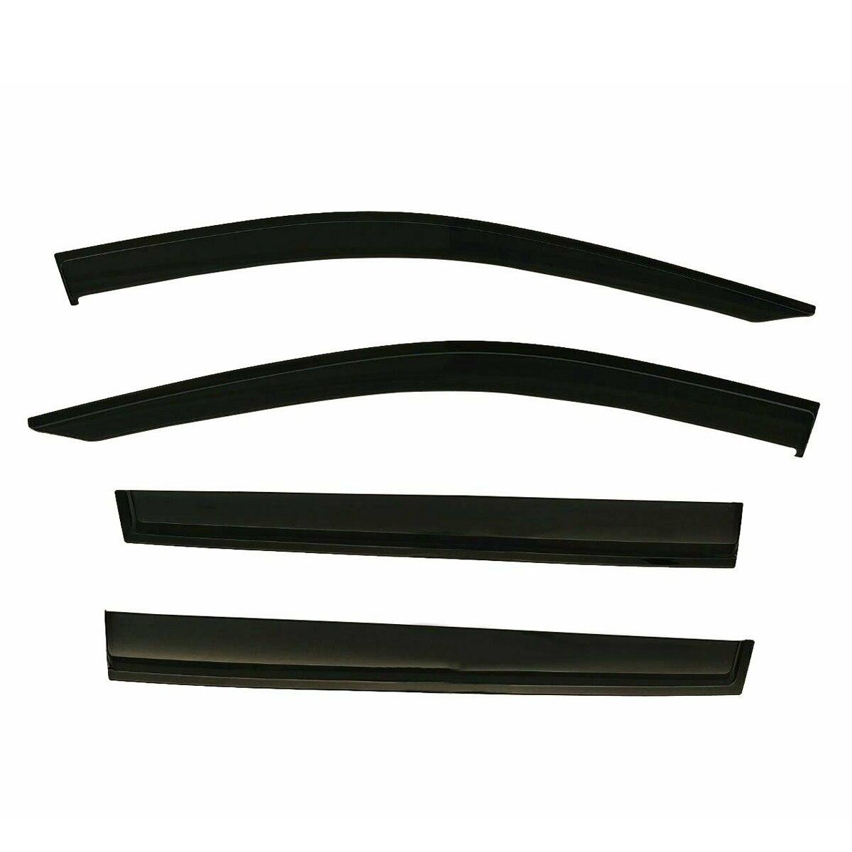 Déflecteur de pare-brise de fenêtre 4 pièces/ensemble garnitures chromées déflecteurs d'ombre de soleil d'évent pour Toyota RAV4 2019 ~ 2020 - 3