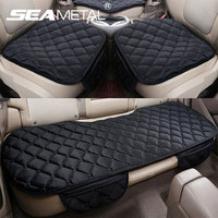 Car Seat Cover 3PCs Soft Warm Non Slip Car Seats Cushion Universal Front Rear Left Right