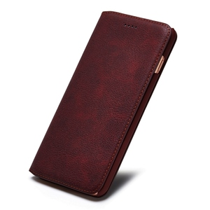 Image 4 - Musubo Ultra Slim Phone Case for iPhone X 7 Plus Genuine Leather Luxury Cases Cover for iPhone 8 6 Plus 6s S9 Plus S8 Flip capa