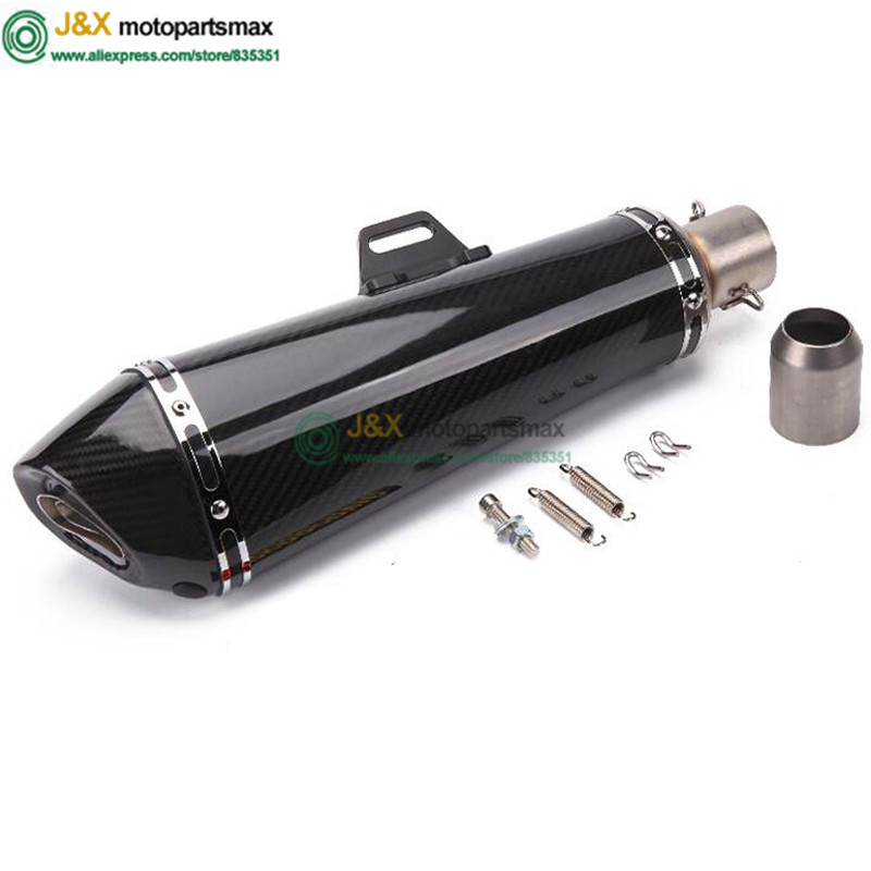 Motorcycle Scooter Modified Escape Exhaust Muffler Pipe DB Killer GY6 z750 CBR125 250 CB400 CB600 YZF FZ400