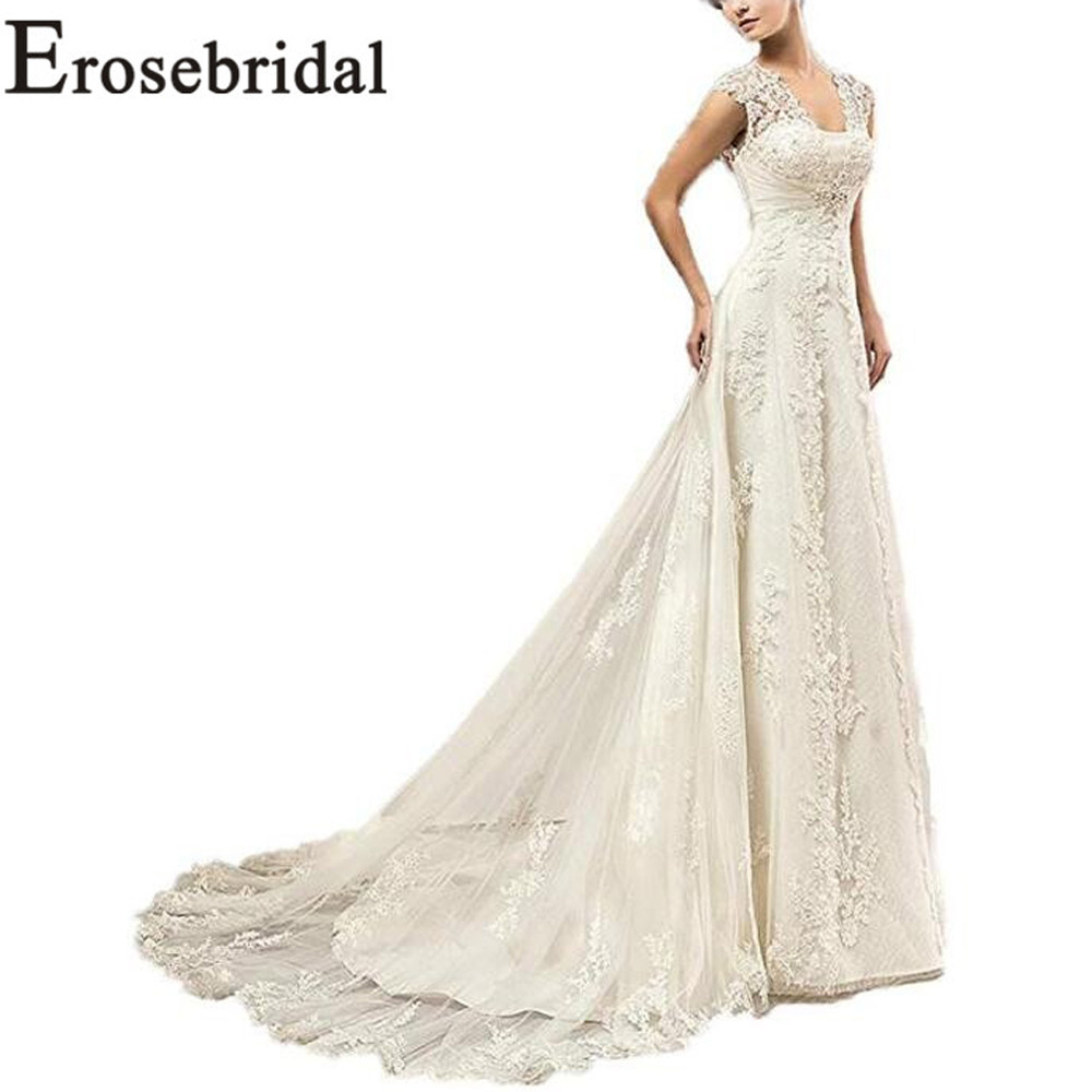 Erosebridal New Arrival Cheap Wedding Dress 2019 Summer