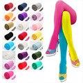 Mulheres Collants 120D Meias de Veludo Cor de Doces de Alta Qualidade de Fitness Outono Inverno Meia-calça Frete Grátis