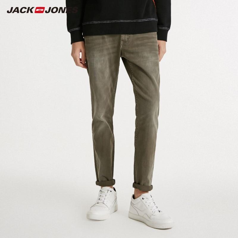 JackJones Men's Fashion Trend Slim Stretch Jeans Menswear 218432528